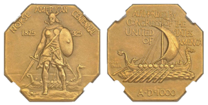 1925_Medal_Norse_Gold_commemorative